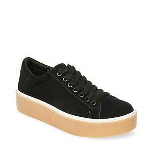 black Suede Steve Madden Sneakers (8)